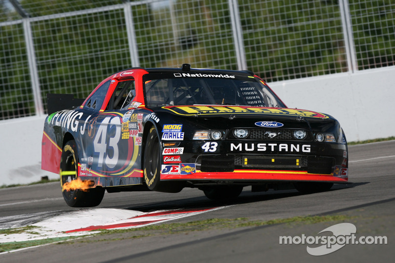 Annett has rough day at Montreal, maintains sixth in points