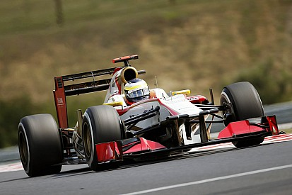 Spa is one of the HRT's drivers favourite tracks