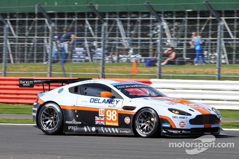 Aston Martin Vantage GTE takes pole at The Six Hours of Silverstone