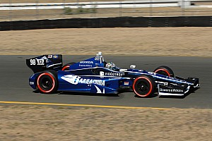 IndyCar Qualifying report Tagliani and Barracuda Racing to start eighth at Sonoma