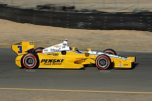 IndyCar Qualifying report Team Chevy drivers claim top-four spots in Sonoma Fast Six
