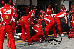 Formula 1 Analysis Ferrari fastest pit crew in 2012 - analysis