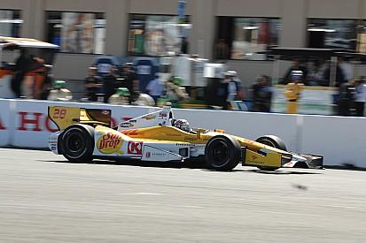 Bad Sunday race for Andretti Autosport team at Sonoma