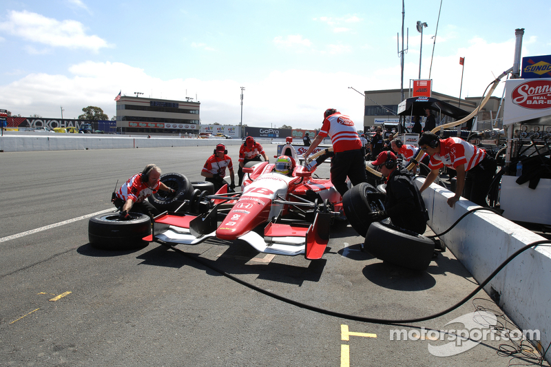 Justin Wilson happy with 11th after Sonoma grid penalty
