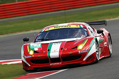 Ferraris won in GTE Pro and GTE Am at Silverstone