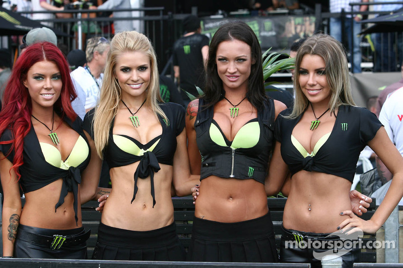 Monster Energy Grid Girls behind the scenes video