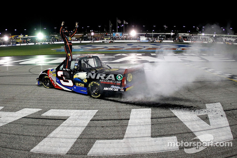 Ty Dillon grabs first career truck win in Atlanta