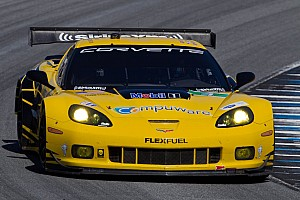 ALMS Qualifying report Spectacular Gavin sets alight the Streets of Baltimore in qualifying