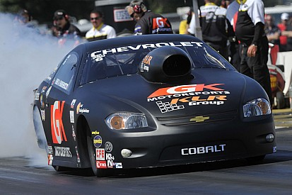 Enders No. 1 after first day of 'Big Go' at Indy
