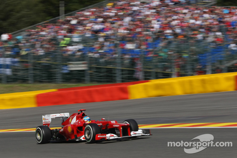 Belgian GP - An average Saturday for Ferrari
