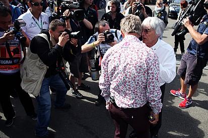 Ecclestone says Schumacher 'leaving' F1 - video