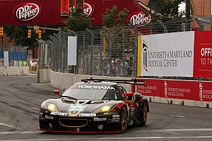 ALMS Race report Lotus Alex Job Racing finishes in top ten at Baltimore