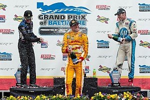 IndyCar Race report Hunter-Reay slick winner of the Grand Prix of Baltimore