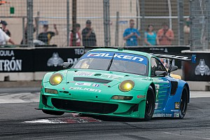 ALMS Race report Falken Porsche win makes it two years in a row at Baltimore