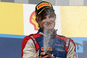 GP2 Race report Tricky Spa puts the accent on tyre strategy - Pirelli