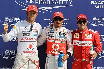 Hamilton steals Italian pole