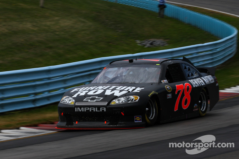 Smith finishes 24th in Richmond after two rain delays