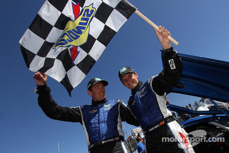 Garcia and Westbrook hand Spirit of Daytona Corvette victory at Laguna Seca