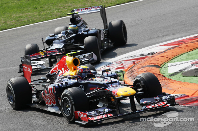 Webber's 'older' alternator survived at Monza