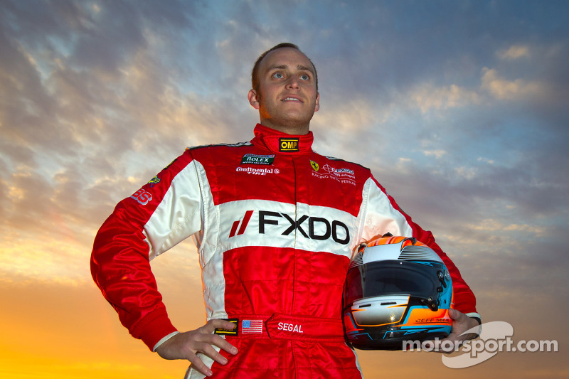 Segal 2012 GT champion in the Rolex Series