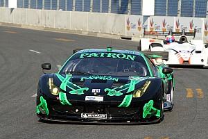 ALMS Preview ESM Patrón Ferrari Team eager for inaugural ALMS race at VIR