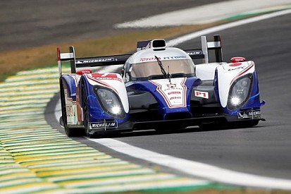 Toyota sets the pace in Friday's practice at Sao Paulo