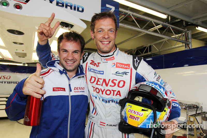 Wurz lands maiden pole for Toyota Hybrid in Sao Paulo