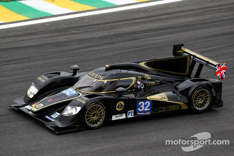 Lotus shows strong performance in LMP2 at Sao Paulo