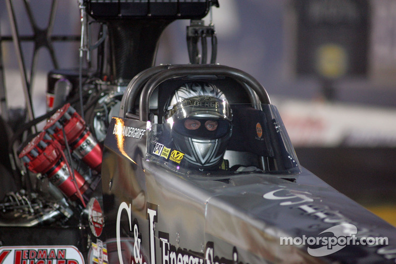 Vandergriff seeking more success in Top Fuel at Texas Motorplex