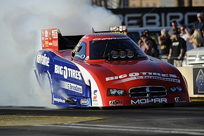 Johnny Gray confident in Funny Car as tour heads to Dallas