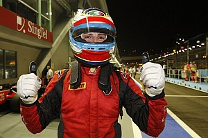 FIA F2 Qualifying report Filippi blazes to Singapore pole