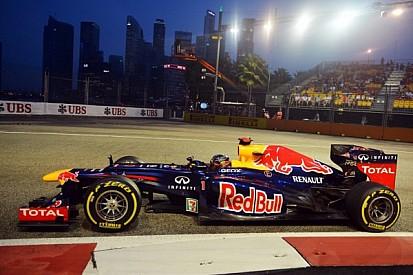 Vettel fastest in Singapore night sessions