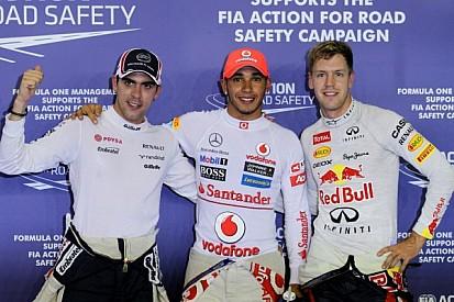 Hamilton, Maldonado top Singapore qualifying