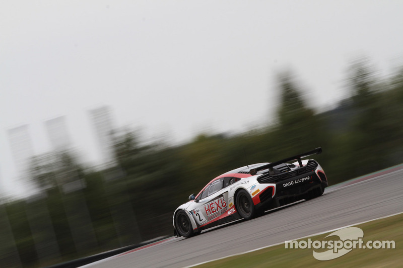 Pole for HEXIS McLaren at the Nurburgring