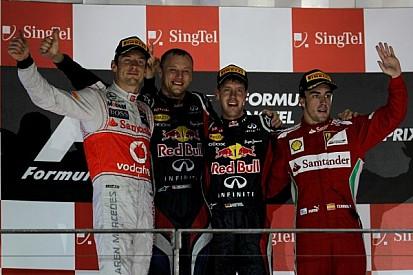 Vettel capitalizes on Hamilton heartbreak in Singapore