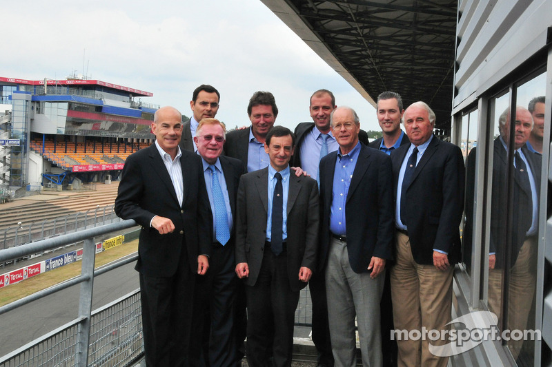 ALMS and Grand Am prepare for 2014 with the ACO at Le Mans