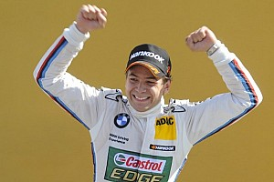 DTM Race report Farfus takes maiden win in action-packed Valencia race
