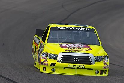 Matt Crafton was top-finishing Toyota at Las Vegas