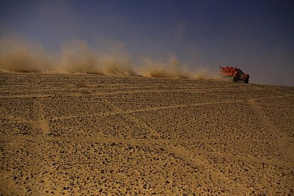 """Schlesser the """"Desert Fox"""" fights back on day 2 of Pharaons Rally"""