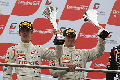 Reiter Engineering at the Podium in Donington on GT1 season final event