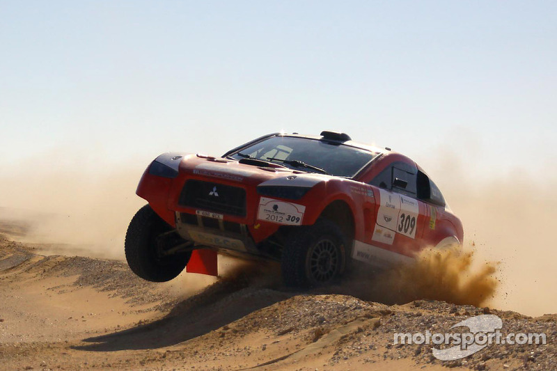 Schlesser takes the Pharaons Rally lead after Al-Mutaiwei struggles