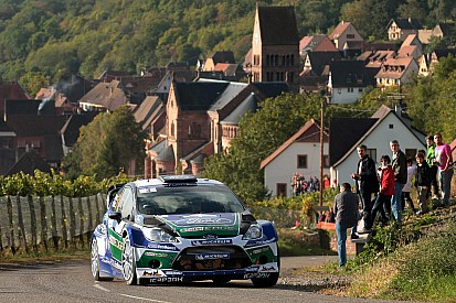 Latvala treble guides Ford's Finn into second in France