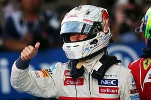 Formula 1 Race report First podium finish for Sauber's Kobayashi at his home race in Suzuka