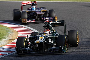 Formula 1 Race report Caterham drivers quotes after Japanese GP