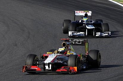 HRT was competitive and De La Rosa finish in 18th at Suzuka
