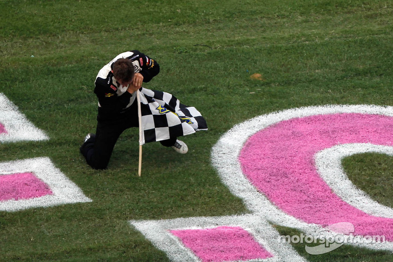 Win at Talladega special for Kligerman and Red Horse Racing