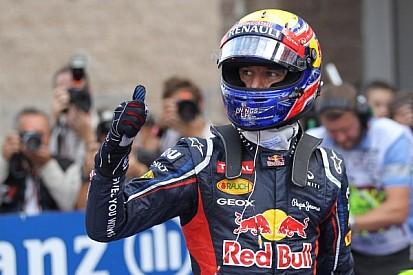 Webber beats Vettel to secure his maiden pole in Korea