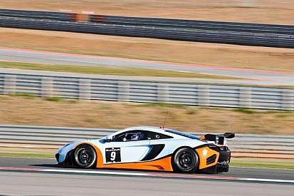 McLaren strong in Blancpain Series practice at Navarra