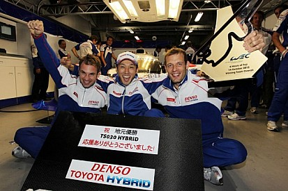 Toyota takes the 6 Hours of Fuji victory in wild homeland race