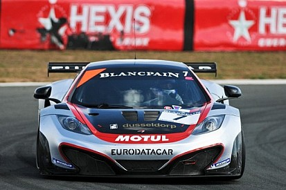 HEXIS McLaren storms to Blancpain Series pole at Navarra